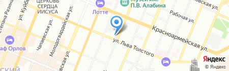 Самарская танцевальная школа на карте Самары