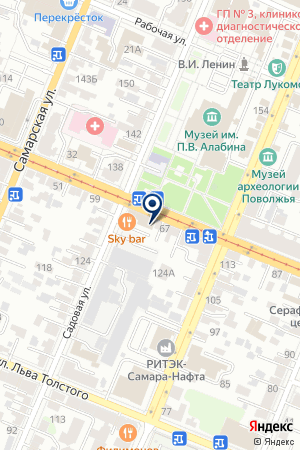 PR-АГЕНТСТВО ПРАТОН на карте Самары