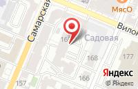 Схема проезда до компании Новая Газета В Поволжье в Самаре