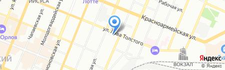 АРГО-СТРОЙ на карте Самары