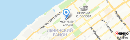 Архив секретариата на карте Самары