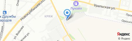 Транс-Сервис 163 на карте Самары