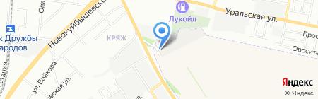 Соня на карте Самары