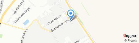 НТК на карте Самары