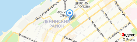 Магазин книг и журналов на карте Самары
