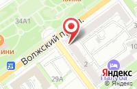 Схема проезда до компании Рус-медиа.г.Волжский в Волжском