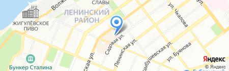 Школа развития спортивных и боевых традиций России на карте Самары