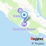 Золотой берег на карте Волжского
