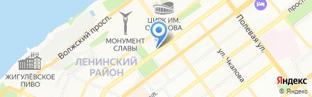 Ясный сокол на карте Самары