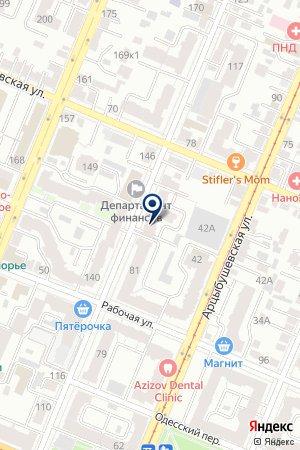 GO! TOURISTIC на карте Самары