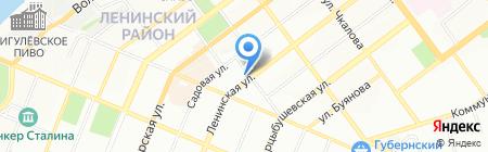БизнесТрансГрупп на карте Самары