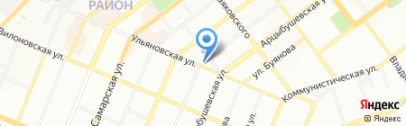 Автодуш на карте Самары