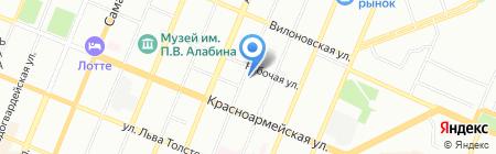Инженерные системы на карте Самары