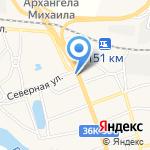 Ермак на карте Волжского