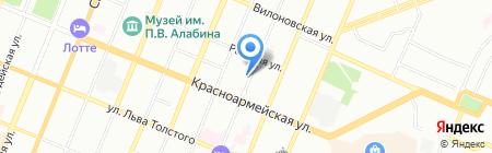 Самарское автомобильное общество на карте Самары