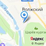 Град Мастер на карте Волжского