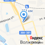 Авто-С на карте Волжского