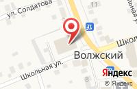 Схема проезда до компании Окна РОСта в Волжском