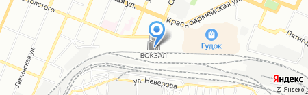 РЖД-тур-авиа-сервис на карте Самары