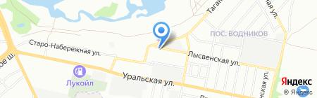 Учебно-сервисный центр на карте Самары