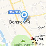 Банкомат на карте Волжского