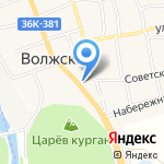 Пикник на карте Волжского