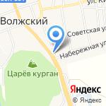 Русское подворье на карте Волжского