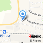 Жигули на карте Волжского