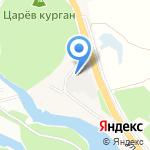 Хрипунов и К на карте Волжского