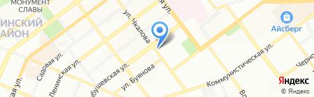 Самарский областной комплексный спортивно-технический учебный центр на карте Самары