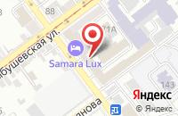 Схема проезда до компании Волга-Групп Девелопмент в Самаре