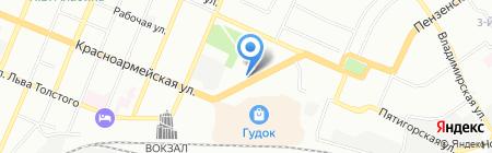 Парадиз-С на карте Самары