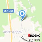 Детский сад №5 на карте Волжского