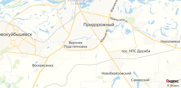 Преображенка на карте