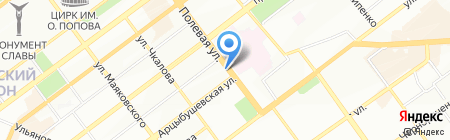 Новичок на карте Самары