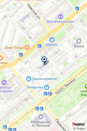 САМАРСКИЙ ОБРАЗОВАТЕЛЬНЫЙ ЦЕНТР на карте Самары