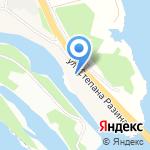 Курумка на карте Волжского