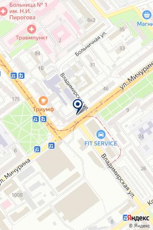 EUROPCAR на карте Самары