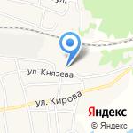 Средняя общеобразовательная школа на карте Волжского