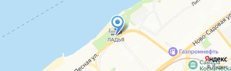 Искра на карте Самары