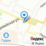 Администрация Железнодорожного внутригородского района на карте Самары
