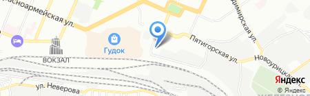 Декарт Групп на карте Самары
