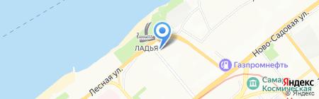 Техносити на карте Самары
