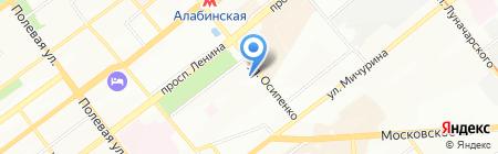 Департамент финансов на карте Самары