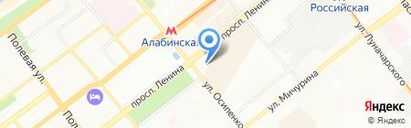 Торгово-монтажная компания на карте Самары