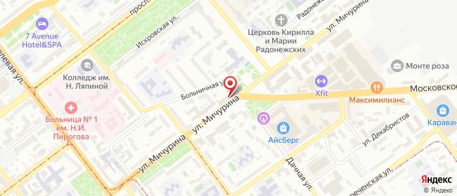 Карта расположения пункта доставки Халва в городе Самара