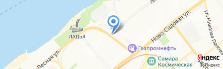 Ладья на карте Самары