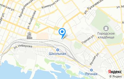 Местоположение на карте пункта техосмотра по адресу г Самара, ул Мечникова, д 3
