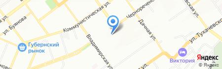 Близнецы на карте Самары