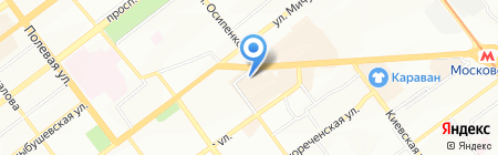 Инфоробот на карте Самары
